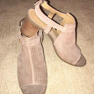 Franco Sarto Open toe booties